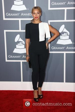 Beyonce - 55th Annual GRAMMY Awards at Staples Center - Arrivals at Grammy Awards, Staples Center - Los Angeles, CA,...