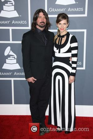 Dave Grohl - 55th Annual GRAMMY Awards at Staples Center - Arrivals at Grammy Awards, Staples Center - Los Angeles,...