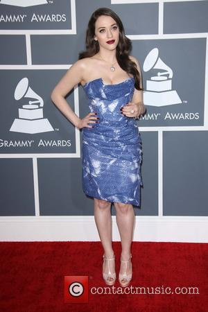 Kat Dennings - 55th Annual GRAMMY Awards at Staples Center - Arrivals at Grammy Awards, Staples Center - Los Angeles,...