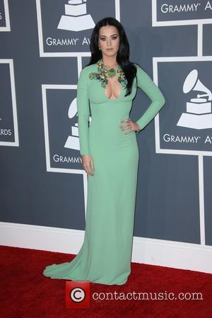 Katy Perry - 55th Annual GRAMMY Awards at Staples Center - Arrivals at Grammy Awards, Staples Center - Los Angeles,...