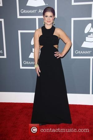 Kelly Osbourne - 55th Annual GRAMMY Awards at Staples Center - Arrivals at Grammy Awards, Staples Center - Los Angeles,...