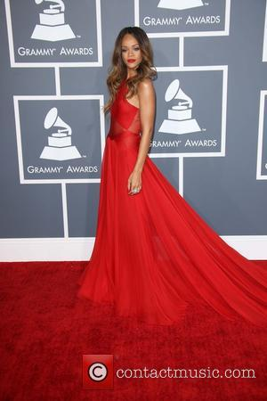 Rihanna - 55th Annual GRAMMY Awards at Staples Center - Arrivals at Grammy Awards, Staples Center - Los Angeles, CA,...