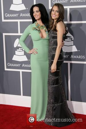 Katy Perry and Allison Williams