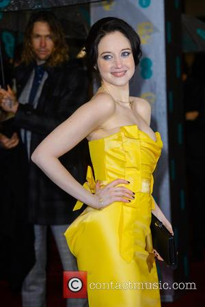 Andrea Riseborough - Bafta Arrivals at British Academy Film Awards - London, United Kingdom - Sunday 10th February 2013