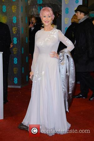 Helen Mirren Sports Pink Hair to the BAFTAs, Inspired by America's Next Top Model