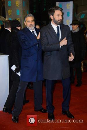 George Clooney and Ben Affleck - Bafta Arrivals at British Academy Film Awards - London, United Kingdom - Sunday 10th...