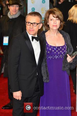 Christoph Waltz and Judith Waltz - Bafta Arrivals London United Kingdom Sunday 10th February 2013