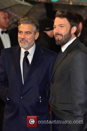 George Clooney and Ben Affleck - Bafta Arrivals London United Kingdom Sunday 10th February 2013