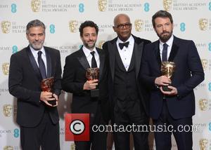 George Clooney, Grant Heslov, Samuel L. Jackson and Ben Affleck