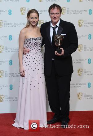 Jennifer Lawrence and Quentin Tarantino