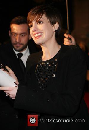 Anne Hathaway - Bafta Afterparty London United Kingdom Sunday 10th February 2013