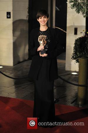 Anne Hathaway - BAFTAS Afterparty London England United Kingdom Sunday 10th February 2013