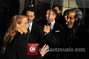 George Clooney and Jessica Chastain