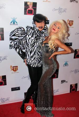 Bobby Trendy and Courtney Stodden - Courtney Stodden music video party Los Angeles California USA Sunday 10th February 2013