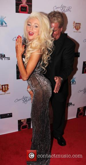 Courtney Stodden and Alex Stodden - Courtney Stodden music video party Los Angeles California USA Sunday 10th February 2013