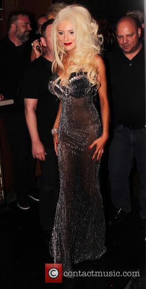Courtney Stodden - Courtney Stodden music video party Los Angeles California USA Sunday 10th February 2013