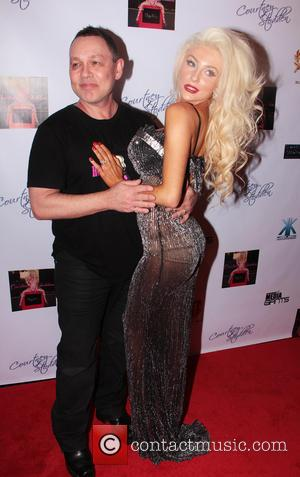 Courtney Stodden and Doug Hutchison - Courtney Stodden music video party Los Angeles California USA Sunday 10th February 2013