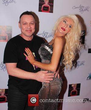 Doug Hutchison - Courtney Stodden music video party Los Angeles California USA Sunday 10th February 2013