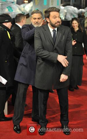 George Clooney and Ben Affleck - EE BAFTA arrivals London United Kingdom Sunday 10th February 2013