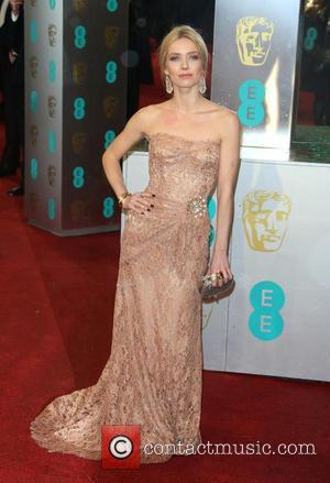 Annabelle Wallis - EE BAFTA arrivals London United Kingdom Sunday 10th February 2013