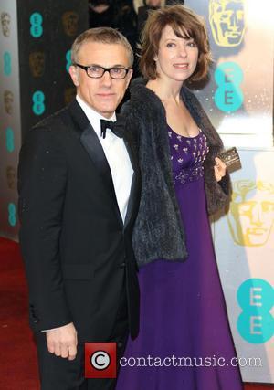 Christoph Waltz and wife Judith Holste - The 2013 EE British Academy Film Awards (BAFTA'S) London United Kingdom Sunday 10th...