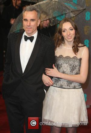 Daniel Day Lewis with his niece Charissa Shearer - The 2013 EE British Academy Film Awards (BAFTA'S) London United Kingdom...