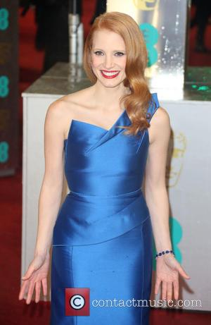 Jessica Chastain, BAFTAs Dress, 2013