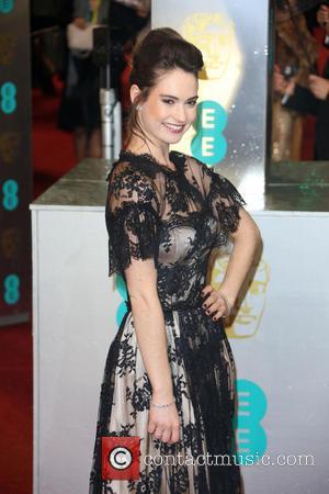 Lily James - The 2013 EE British Academy Film Awards (BAFTAs) London United Kingdom Sunday 10th February 2013