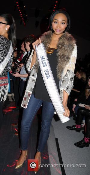 Nana Meriwether - New York fashion week Vivienne Tam front row New York City New York United States Sunday 10th...