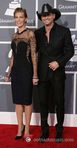 Faith Hill, Tim McGraw, Grammys 2013