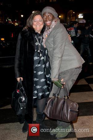 Fern Malis and J. Alexander - NYFW Zac Posen Outside New York City NY United States Monday 11th February 2013