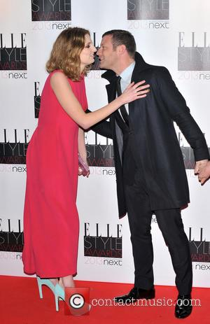 Laura Carmichael and Dermot O'leary
