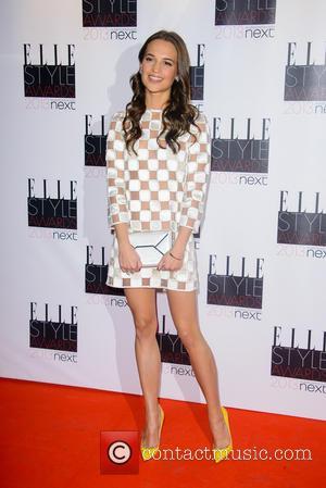 Alicia Vikander - Elle Style Awards - London, United Kingdom - Monday 11th February 2013
