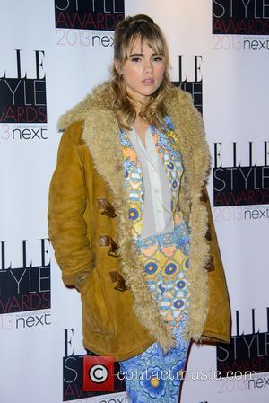 Suki Waterhouse - Elle Style Awards - London, United Kingdom - Monday 11th February 2013