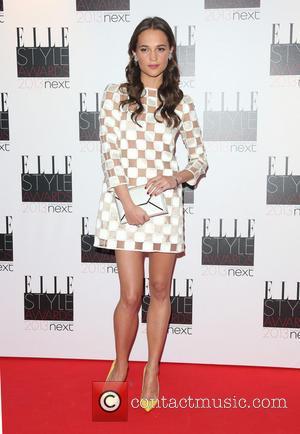 Alicia Vikander - Elle Style Awards arrivals - London, United Kingdom - Monday 11th February 2013