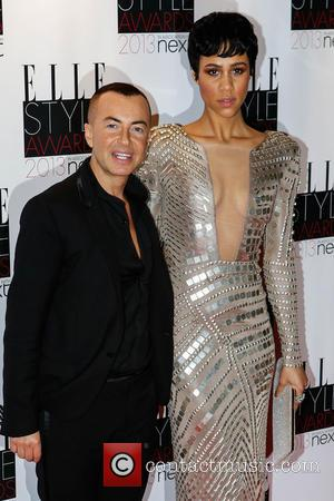 Zawe Ashton and Julien Macdonald