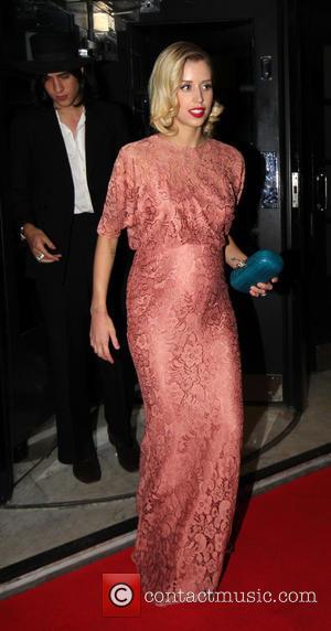 Peaches Geldof and Thomas Cohen - Elle Style Awards Departures - London, United Kingdom - Monday 11th February 2013