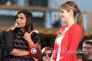 Mindy Kaling and Maria Menounos