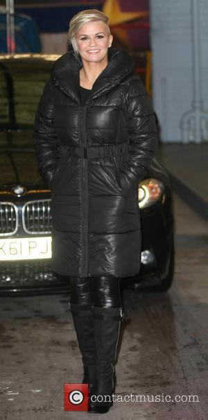 Kerry Katona - Celebrities outside the ITV studios - London, United Kingdom - Monday 11th February 2013