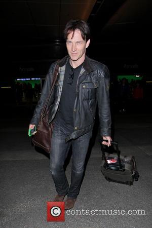 Stephen Moyer - Celebrities arriving at LAX airport - Los Angeles, California, USA - Monday 11th February 2013