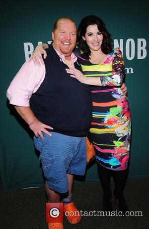 Nigella Lawson and Mario Batali - Nigella Lawson promoting her new book - New York City, NY, United States -...