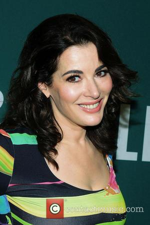 Nigella Lawson - Nigella Lawson promoting her new book