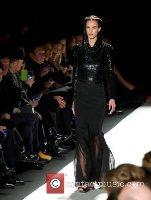 Model - NYFW Carolina Herrera - Runway at New York Fashion Week - New York City , New York, United...