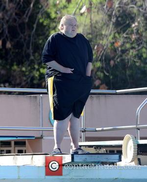 Louie Anderson - Celebrities practice their dives for the upcoming ABC show 'Splash' - Los Angeles, California, United States -...