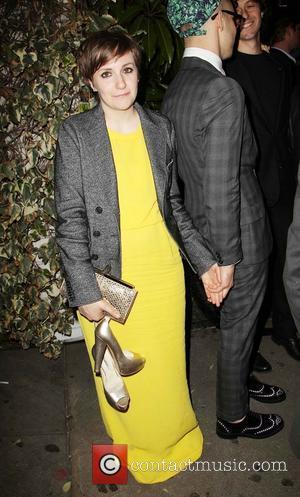 Lena Dunham - The 55th Annual GRAMMY Awards - Warner...