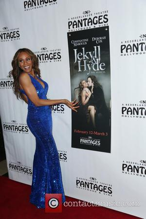 Deborah Cox - Jekyll and Hyde premiere - Hollywood, California, United Kingdom - Monday 11th February 2013