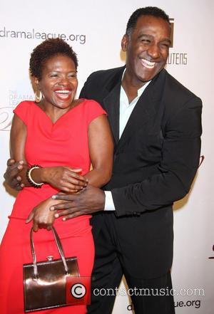 LaChanze and Norm Lewis - Drama League Gala 2013 - Arrivals - New York, NY, United States - Monday 11th...