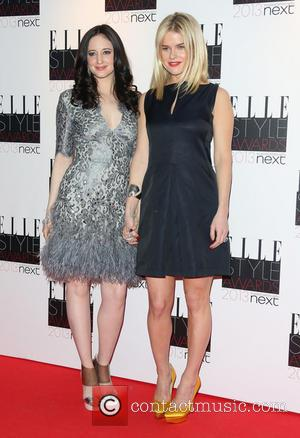 Andrea Riseborough and Alice Eve - The Elle Style Awards 2013 - London, United Kingdom - Monday 11th February 2013