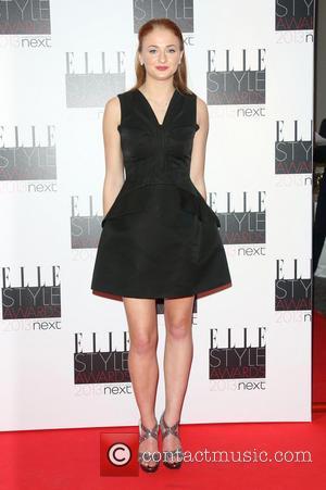 Sophie Turner - The Elle Style Awards 2013 - London, United Kingdom - Monday 11th February 2013