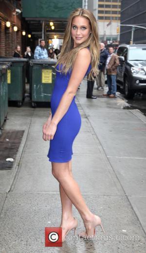 Hannah Davis - Swimwear Models on Letterman - New York, NY, United States - Monday 11th February 2013